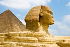 Ondoorgrondelijke Sfinx royalty-vrije stock afbeeldingen