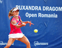 Ondraskova at WTA Event in Bucharest Stock Photography
