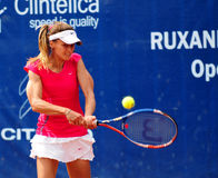 Ondraskova at WTA Event in Bucharest Royalty Free Stock Images