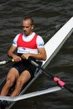 Ondrej Luzek at Prague primatorky rowing race Stock Photography