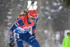Ondrej Moravec - biathlon Stock Image