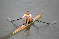 Ondrej Synek - rowing Stock Image