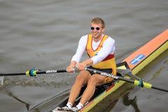 Ondrej Synek - 100th гонка rowing Primatorky Стоковое Изображение RF