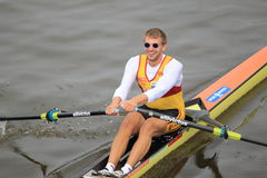 Ondrej Synek - 100th Primatorky rowing race Royalty Free Stock Image