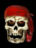 ondskan piratkopierar skallen Royaltyfri Fotografi