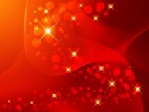 Onduidelijk beeld, abstracte achtergrond, cirkels van licht. Royalty-vrije Stock Foto