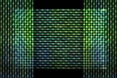 Onduidelijk beeld groene lijnen Stock Afbeeldingen
