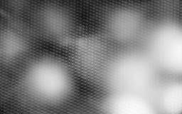 Onduidelijk beeld zwart-wit abstract behang Stock Foto