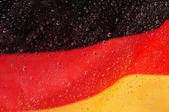 Ondulação alemão da bandeira Fotos de Stock Royalty Free