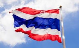 Ondulação da bandeira de Tailândia Imagem de Stock Royalty Free