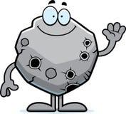 Ondulação do asteroide dos desenhos animados Foto de Stock Royalty Free