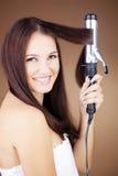 Ondulação do cabelo Imagens de Stock