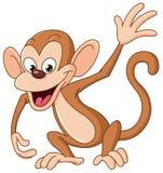 Ondulação do macaco ilustração stock