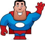 Ondulação do super-herói Fotos de Stock