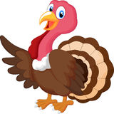 Ondulação dos desenhos animados de Turquia Imagem de Stock