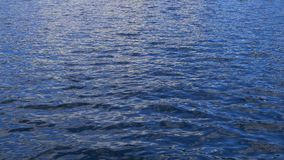Ondulación del agua azul para un fondo metrajes
