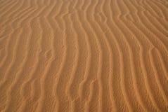 Ondulaciones de la arena fotos de archivo