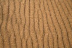 Ondulaciones de la arena Imagen de archivo libre de regalías