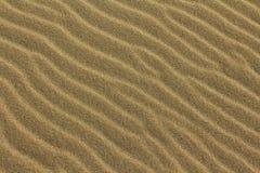Ondulaciones de la arena Imágenes de archivo libres de regalías