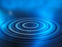 Ondulaciones del agua ilustración del vector