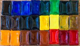Ondulaciones del color Imágenes de archivo libres de regalías