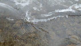 Ondulaciones del invierno Foto de archivo