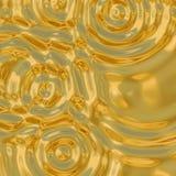 Ondulaciones del oro Fotos de archivo libres de regalías
