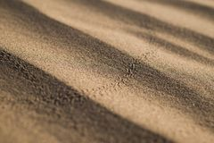 Ondulaciones en el modelo 2 de la arena Fotografía de archivo libre de regalías