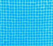 Ondulaciones en una piscina Imagen de archivo libre de regalías