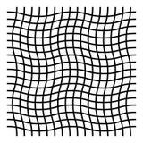 Ondulado, zigzag, criss cruce el modelo de rejilla stock de ilustración