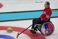 Ondulação da cadeira de rodas Foto de Stock