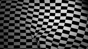 Ondulation Checkered d'indicateur illustration stock