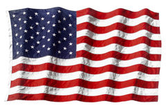 Ondulation d'indicateur américain Photo stock