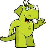 Ondulation de dinosaur Images libres de droits
