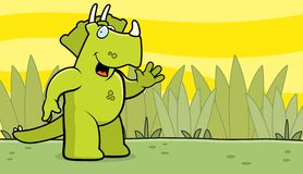 Ondulation de dinosaur Image libre de droits