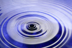 Ondulation de l'eau Photographie stock