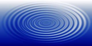 Ondulation de l'eau Images libres de droits