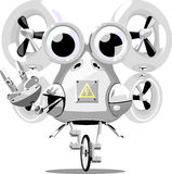 Ondulation de robot Image libre de droits