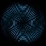 ondulation foncée bleue de fond sans joint illustration de vecteur