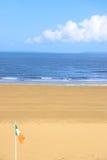 ondulation irlandaise d'indicateur de plage Image libre de droits