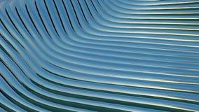 Ondulation métallique de bandes Technologie abstraite