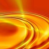 Ondulation orange illustration stock
