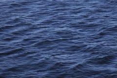 ondulation sur la surface de mer Images libres de droits