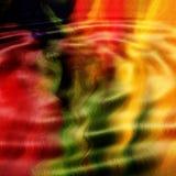 Ondulations abstraites   Images libres de droits