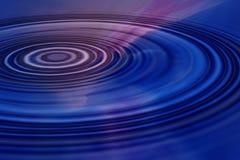 Ondulations bleues Image libre de droits