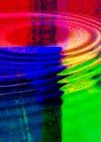 Ondulations colorées Image libre de droits