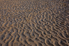 Ondulations dans le sable Image libre de droits