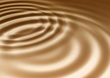 Ondulations de chocolat Image libre de droits