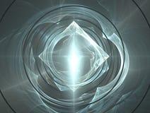 Ondulations de diamant et d'eau Images stock