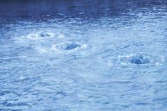 Ondulations de l'eau Photo libre de droits
